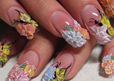 Курс: Мастер дизайна ногтей.
